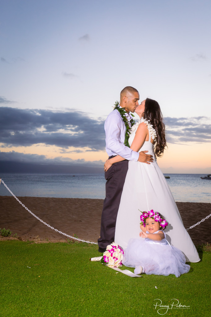 Kaanapali beach wedding