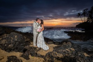 Makena Cove elopement