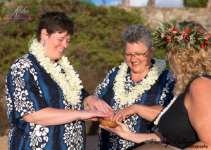 gay wedding in Maui