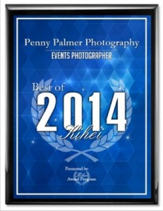Maui wedding photographer award